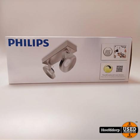 Philips myLiving LED-spotlight Spur LED chroom 2x4.5 W 533121716 | Nieuw