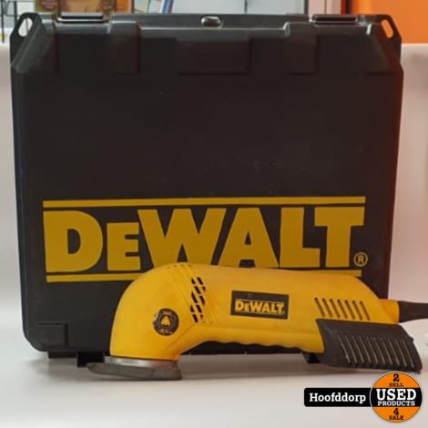 DeWALT D26430 Driehoekschuurmachine