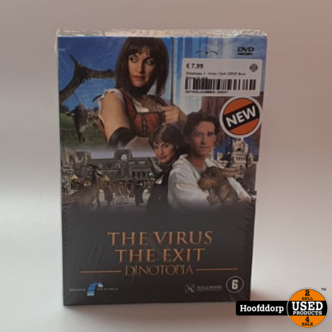 Dinotopia 3 - Virus / Exit (2DVD Box) | Nieuw in seal