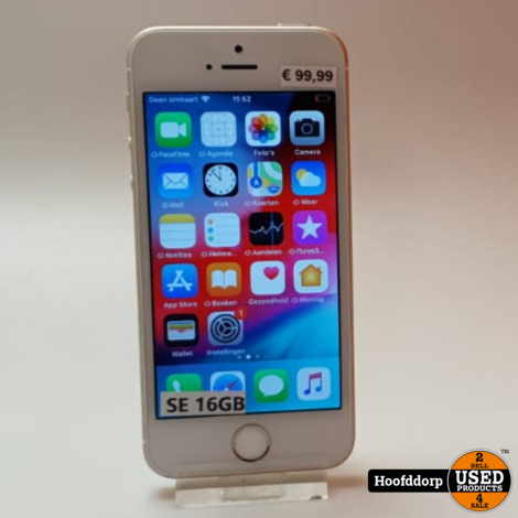iPhone SE 16GB Gold | Nette staat