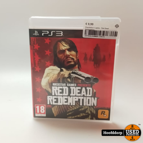Playstation 3 game : Red Dead Redemption