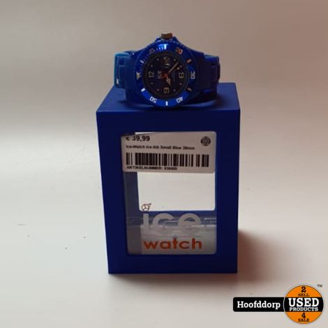 Ice-Watch Ice-Sili Small Blue 38mm