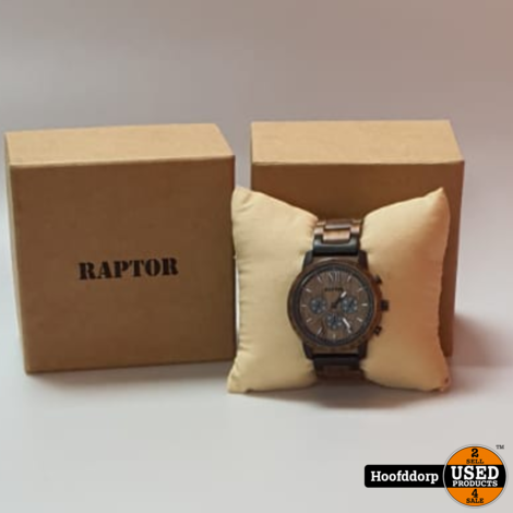raptor RA20255 herenhorloge Wood Design