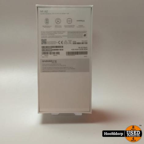 Xiaomi Mi A2 Andriod One 32GB Zwart   Nieuw in Seal