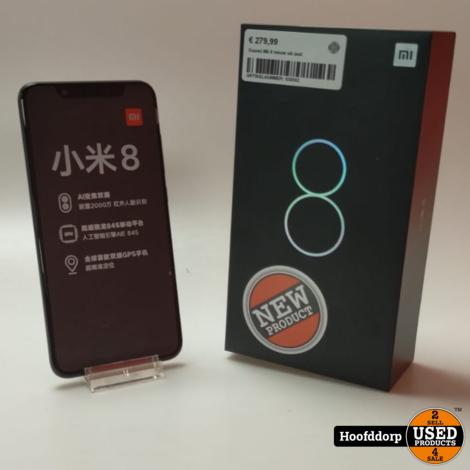 Xiaomi Mii 8 Black nieuw uit seal