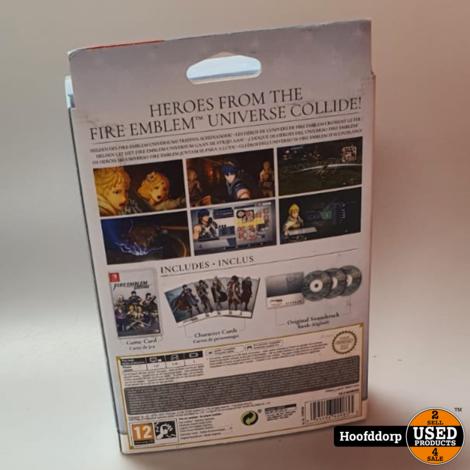 Nintendo Switch Game: Fire Embleem Warrios Limited Edition