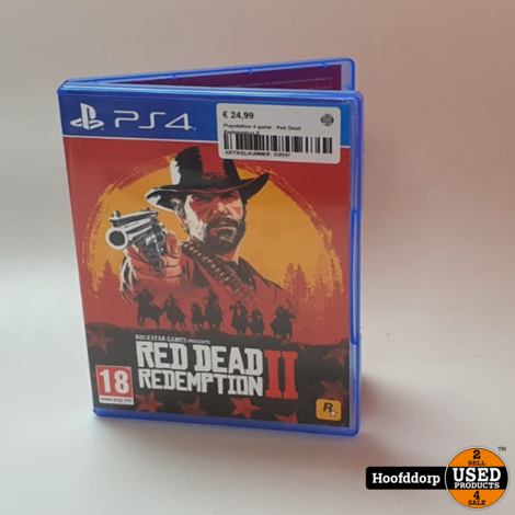 Playstation 4 game : Red Dead Redemption II