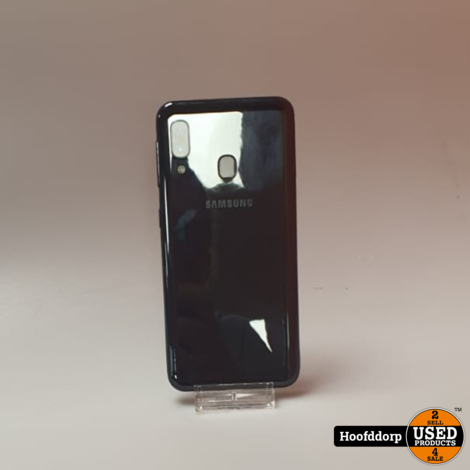 Samsung Galaxy A20e 32GB Black | Nieuwstaat