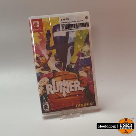 Nintendo Switch Game : Runner 3 | Nieuw in seal