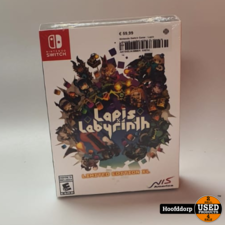 Nintendo Switch Game : Lapis Labyrinth Limited edition XL | Nieuw in seal