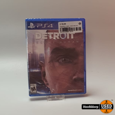Playstation 4 game : Detroit Become Human Nieuw in seal