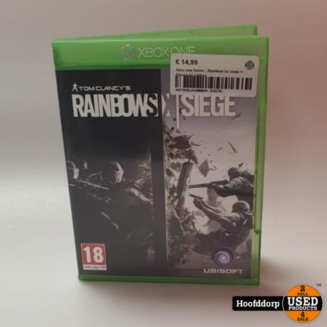 Xbox one Game : Rainbow six siege + Advanced edition