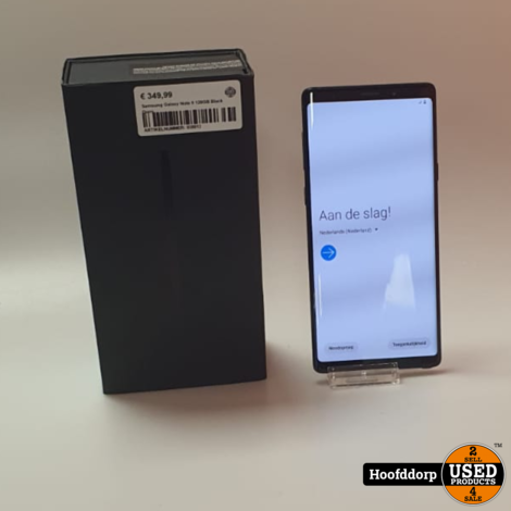 Samsung Galaxy Note 9 128GB Black Duos