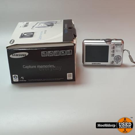Samsung S1060 Digitale camera nieuwstaat compleet in doos