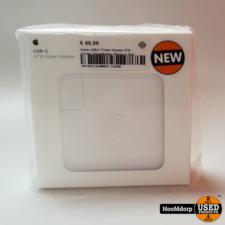 Apple USB-C Power Adapter 87W Zonder Oplaadkabel | Nieuw in Seal