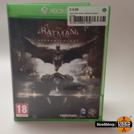Xbox One Game: Batman Arkham Knight