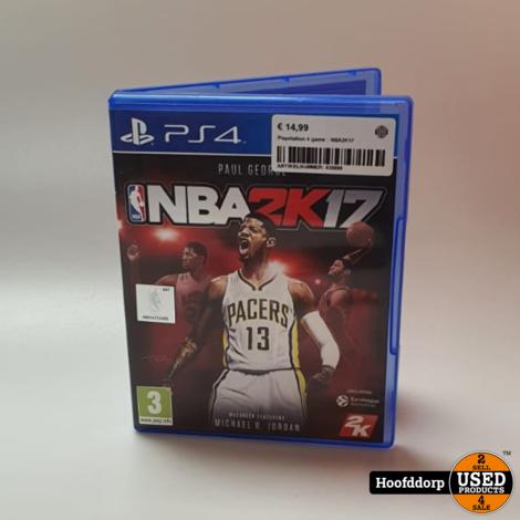 Playstation 4 game : NBA2K17