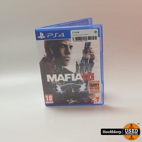 Playstation 4 game : Mafia III