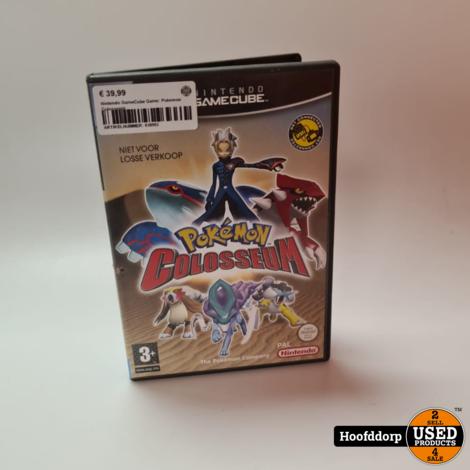 Nintendo GameCube Game: Pokemon Colosseum