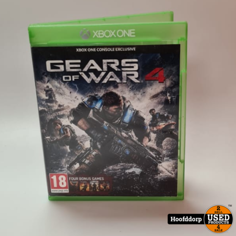Xbox one game : Gears of war 4