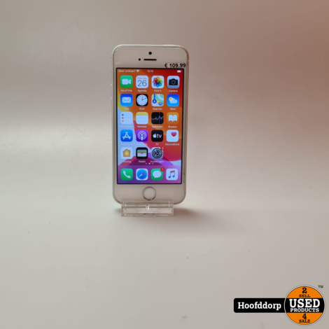 iPhone SE 32GB Silver nette staat