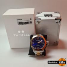 TW Steel CB142 Canteen Bracelet XL Horloge 50mm