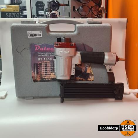 dutack bt 1650 spijkertacker in koffer
