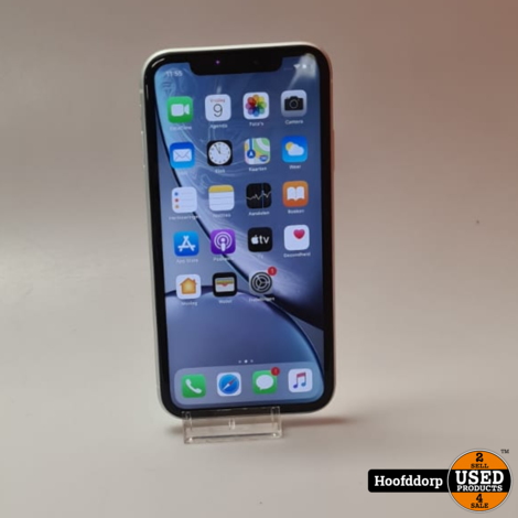 iPhone XR 64GB White zeer nette staat