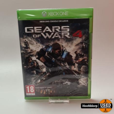 Xbox one game : Gears of war 4 nieuw in seal