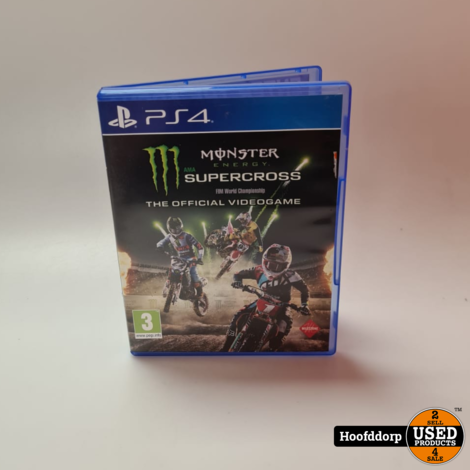 Playstation 4 Game : Monster energie supercross   The official videogame