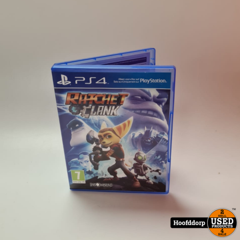 Playstation 4 Game : Ratchet & Clank