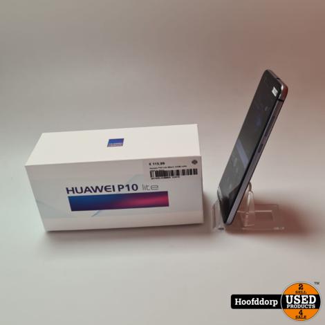 Huawei P10 Lite Black 32GB nette staat in doos
