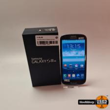 Samsung Galaxy S3 Blauw met doos