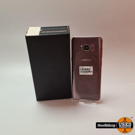 Samsung S8 64GB Pink ( ingebrand scherm) Geen Garantie