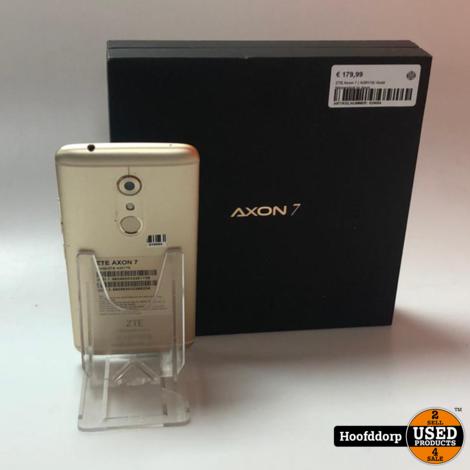 ZTE Axon 7 ( A2017G) Gold Nieuwstaat in doos