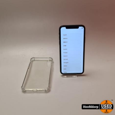 iPhone X 64GB Black redelijke staat