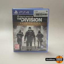Playstation 4 game : Tom Clancy's The Division Gold Edition