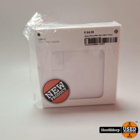 Apple MX0J2ZM/A 96W USB-C Power Adapter nieuw in seal