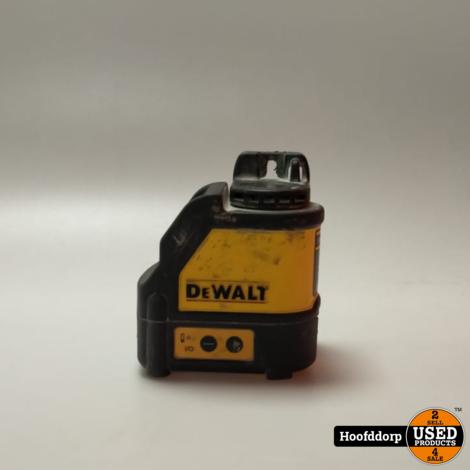 DeWalt DW088CG Lijnlaser gebruikt