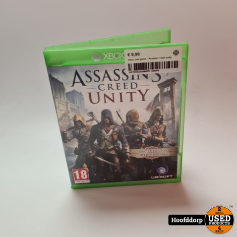 Xbox one game : Assasin creed unity