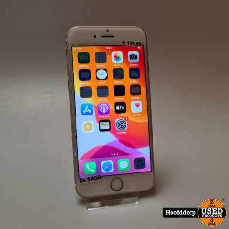 iPhone 6s 64GB Gold Nette staat
