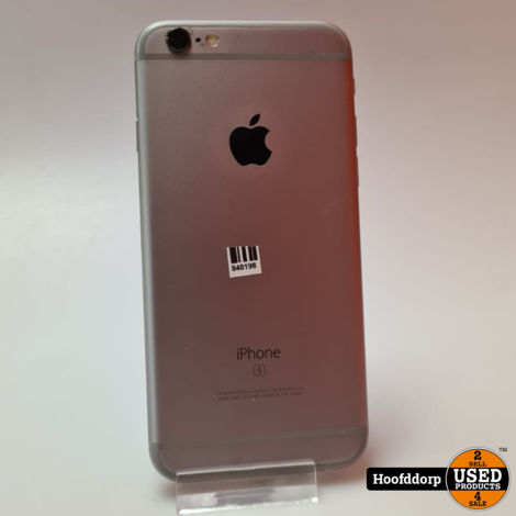iPhone 6s 64GB Space Gray Nette staat