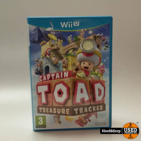 Nintendo Wii u game : Captain Toad Tresure Tracker
