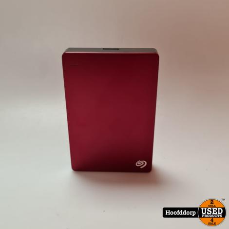 Seagate Backup plus 5TB red met kabel