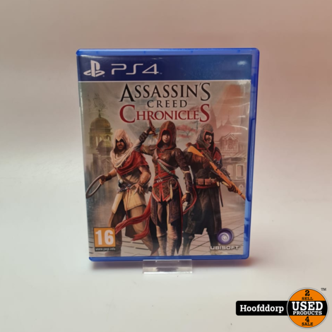 Playstation 4 Game : Assasins Creed Chronicles