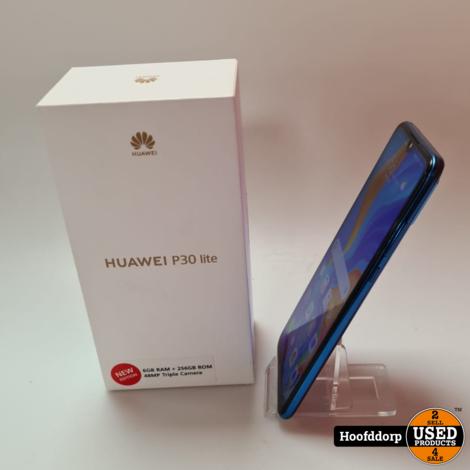 Huawei P30 Lite New edition 256GB in nieuwstaat in doos