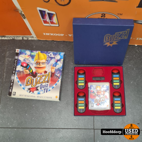 Playstation 3 game : BuZZ Special edition box