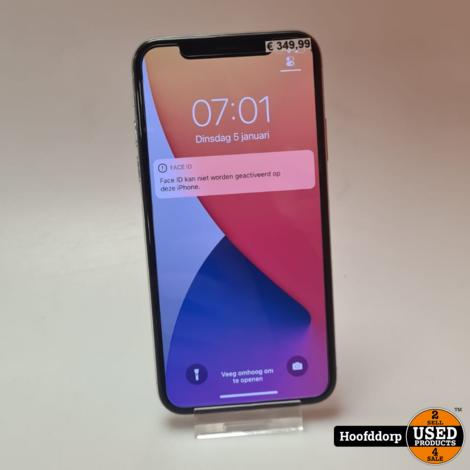 iPhone X 64GB Silver | Nieuwstaat | GEEN Face ID