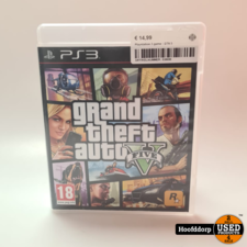 Playstation 3 game : Grand theft auto 5