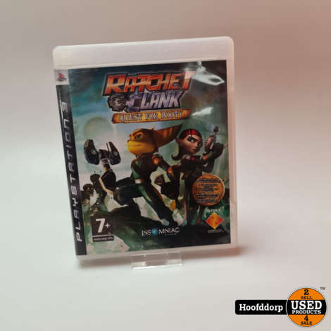 Playstation 3 game : Ratchet en Clank Quest for Booty